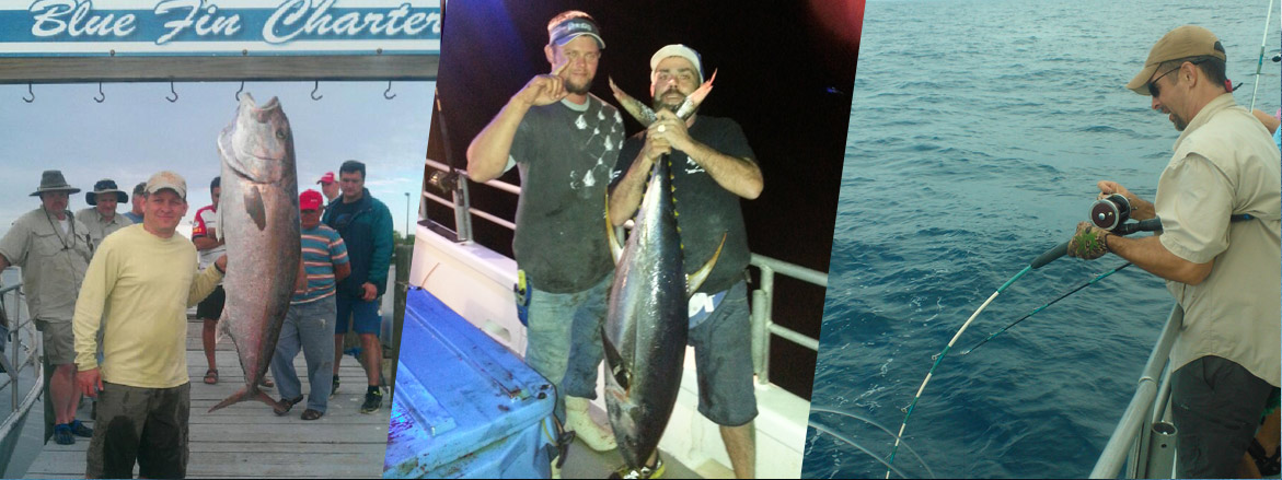 Offshore sport fishing with blue fin charters for Deep sea fishing houston